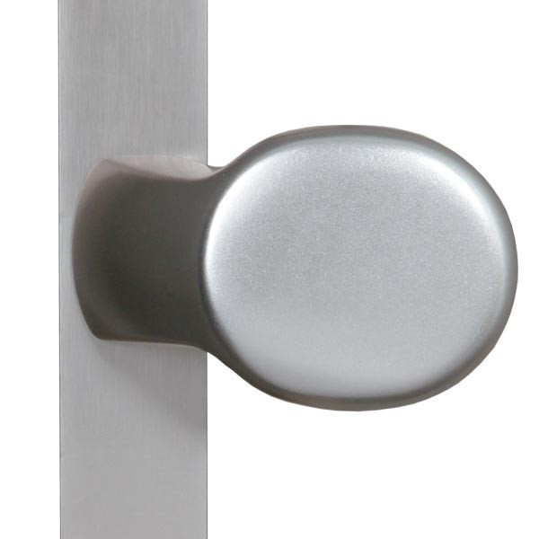 TraumGarten Drückergarnitur Aluminium Knauf-/Klinkenausführung - Universal
