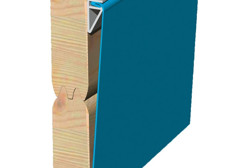 Karibu Holzpool Swimmingpool Achteck Modell B1  400 x 480 cm - kdi - inkl. Sonnenterrasse