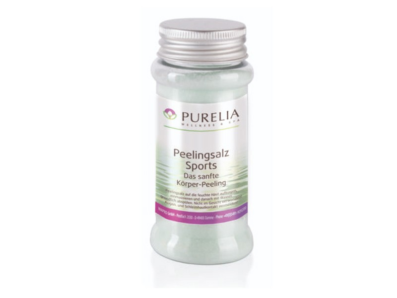 Purelia Salzpeeling Sauna Peeling 120 g Sports