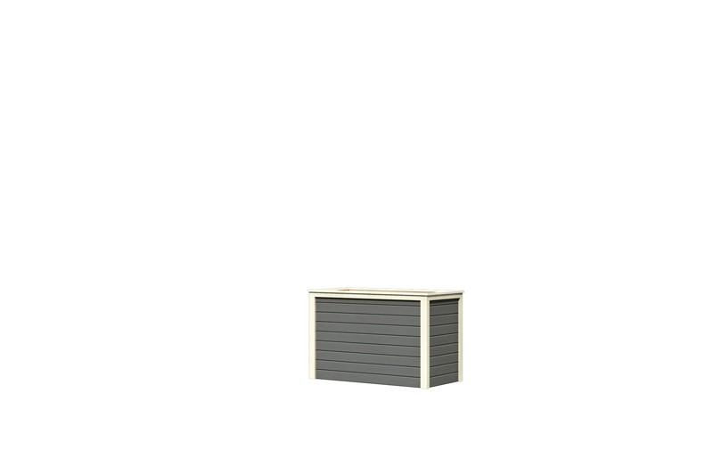Karibu Hochbeet 1 (126 x 63 x 80 cm) - terragrau