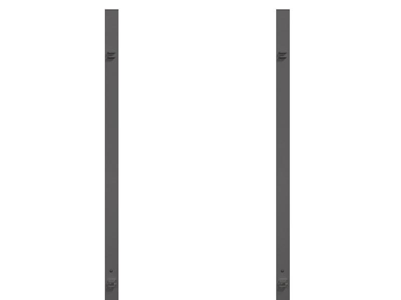 TraumGarten Torpfosten Set DT für Doppeltore - 8 x 8 x 255 cm