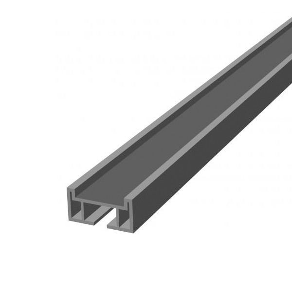 TraumGarten Unterkonstruktion DreamDeck  Aluminium flach -  4 x 2 x 200 cm