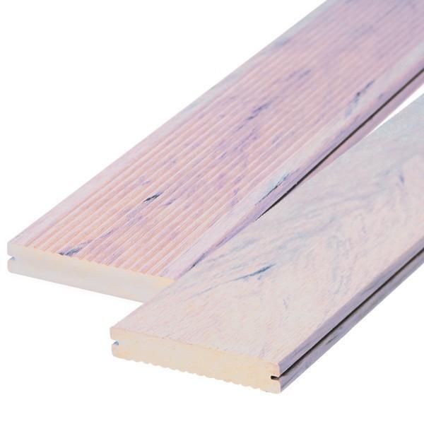 TraumGarten Terrassendiele DreamDeck WPC BiColor sand - 12,5 x 2,1 x 200 cm