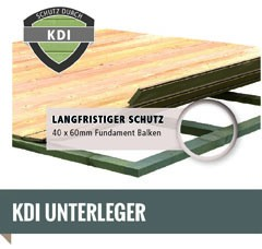 Woodfeeling-Flachdach-Gartenhaus-Askola-493 x 217 cm