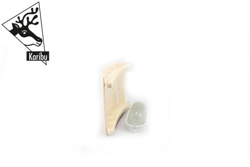 Karibu Sauna Leuchte Modern - ohne Anschlusskabel für 400 Volt