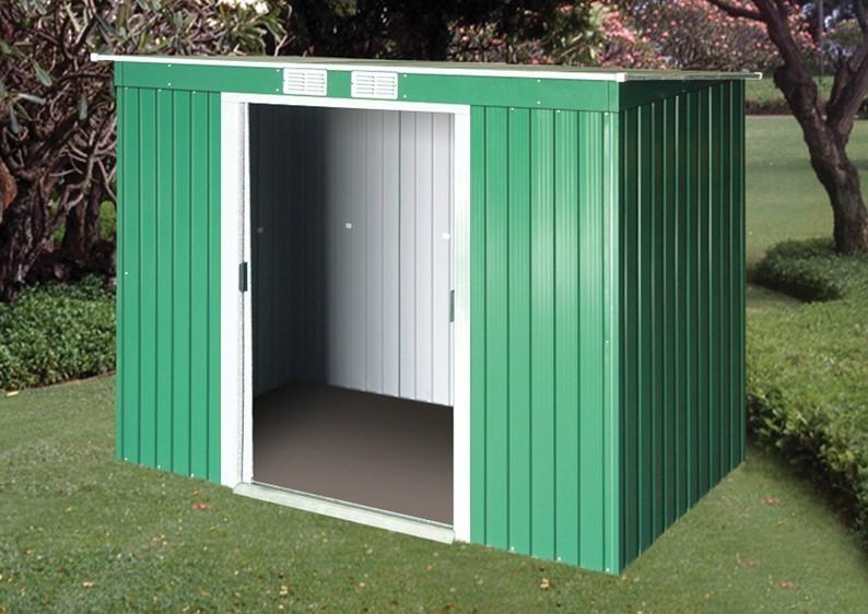 Tepro Gerätehaus Metall - Pent Roof 8x4 - Anthrazit