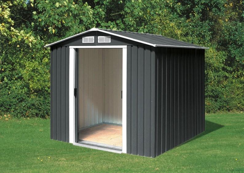 Tepro Gerätehaus Metall - Riverton 6x4 - Grün