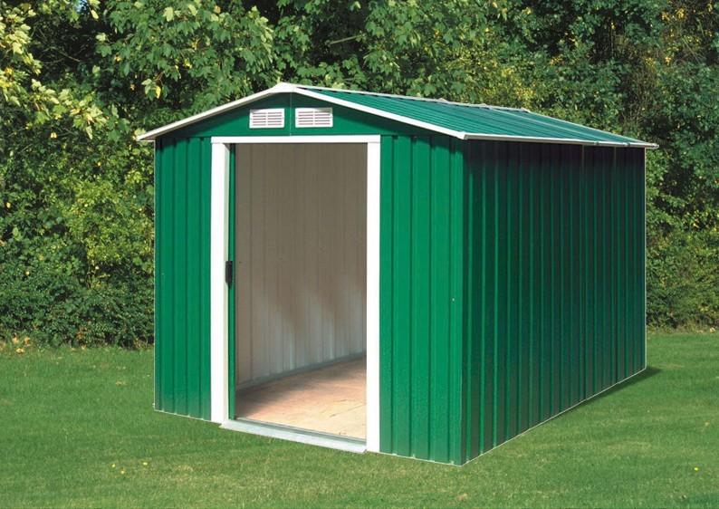 Tepro Gerätehaus Metall - Riverton 6x8 - Grün