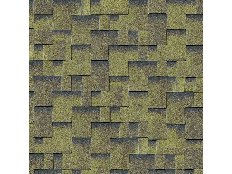 Karibu Dachschindeln Asymmetrisch - Zedernholz - 4qm Paket