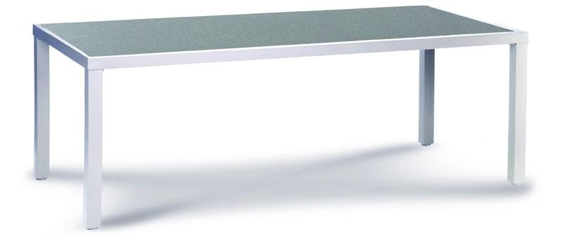Best Alu-Tisch Novelle 160x96cm silber