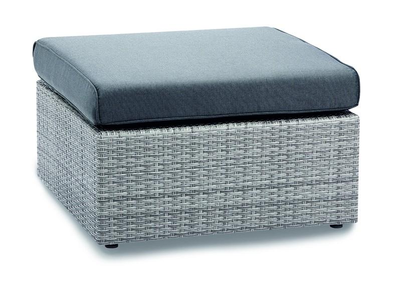 Best Lounge Tisch/Fußteil Bonaire warm-grey