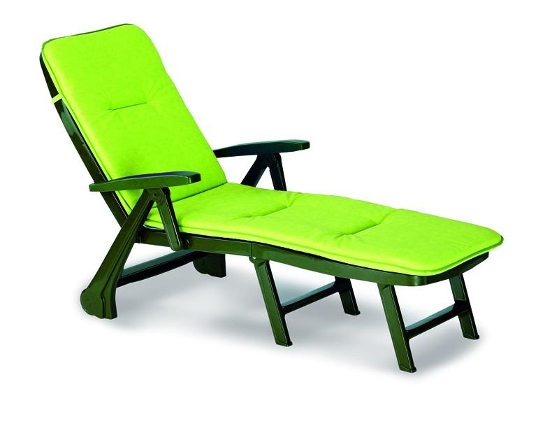 Best Rolliege Charleston grün inkl. Auflage in Dessin Dessin Nr.:1362