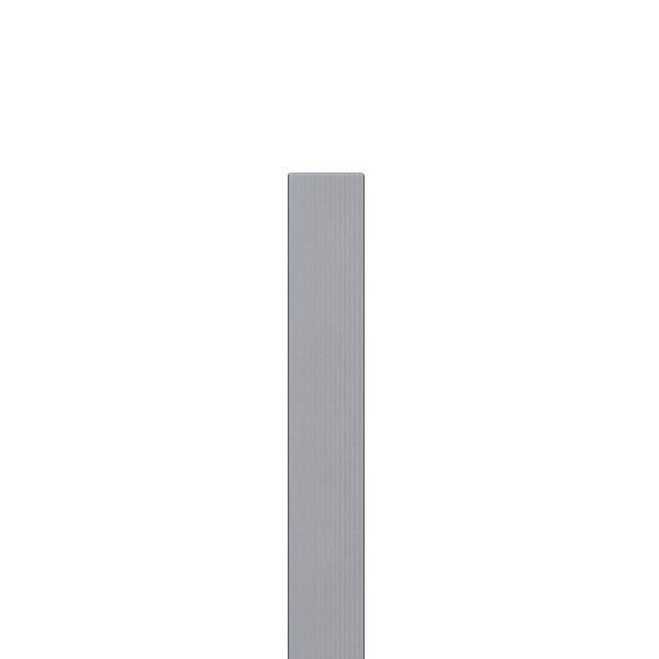 TraumGarten Zaunpfosten WPC grau mit Metallkern - 8,4 x 8,4 x 200 cm