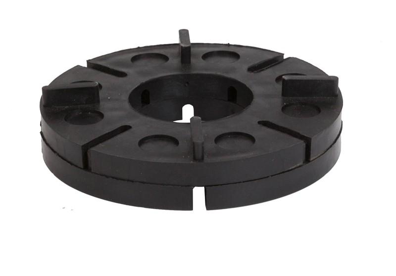 aMbooo Terrassendielen Verlege Set MegaDeck - EPDM Farbe schwarz