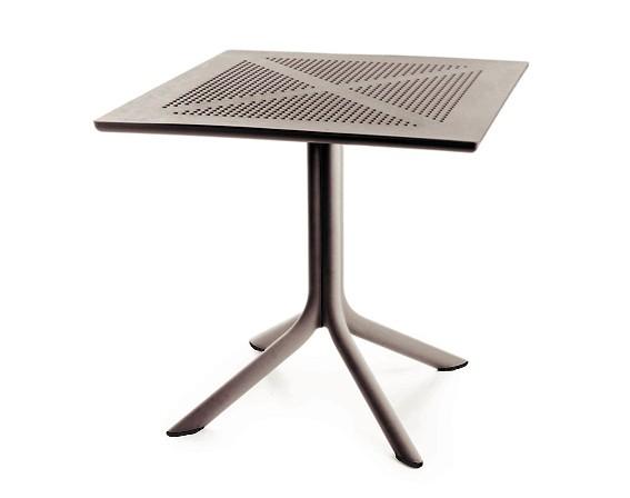 Best Tisch Ohio 80x80cm taupe