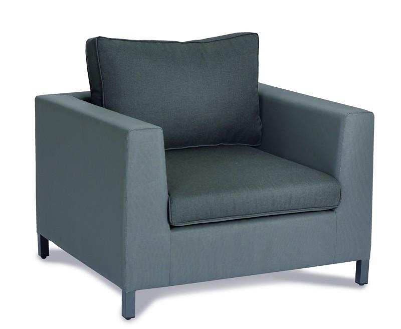 Best Lounge-Sessel Trinidad anthrazit/anthrazit