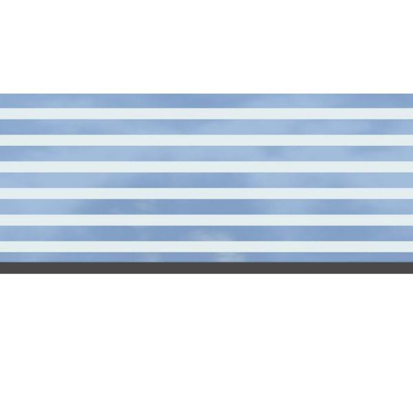 TraumGarten Dekorprofil Set Delta mattiert - 30 x 178 cm