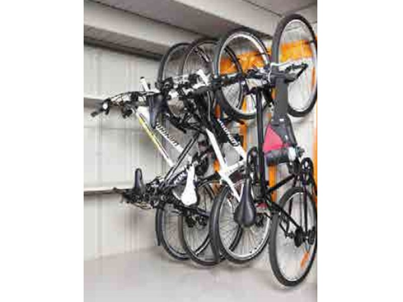 Wolff Finnhaus Metall-Gartenhaus Fahrradhalter für Wand 20