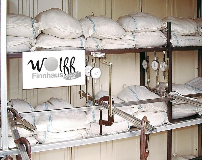 Wolff Finnhaus Metall-Gartenhaus Yokohama rauchgrau, o.Regale u. Boden, m. Tür Wandmaß: 183,2 x 159