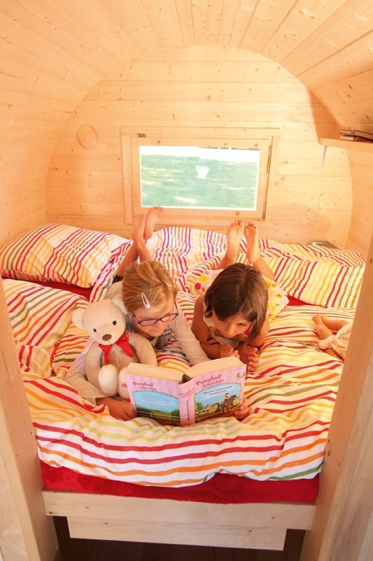 Wolff Finnhaus Matratze für Campingfass aus Holz