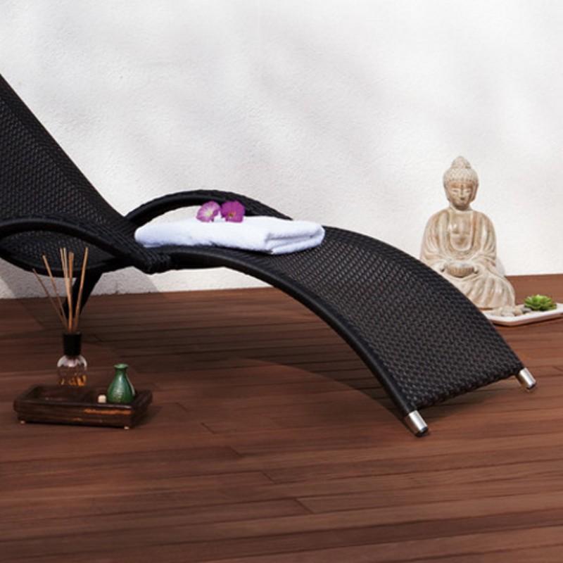 TraumGarten Terrassendiele DreamDeck Bambus geölt - 14 x 2 x 220 cm