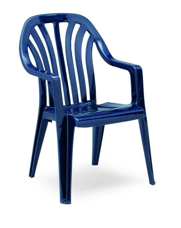Best Stapelsessel Laredo blau