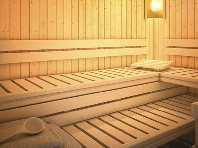 Karibu Premium Sauna Bankblende Größe 2 und Rückenlehne