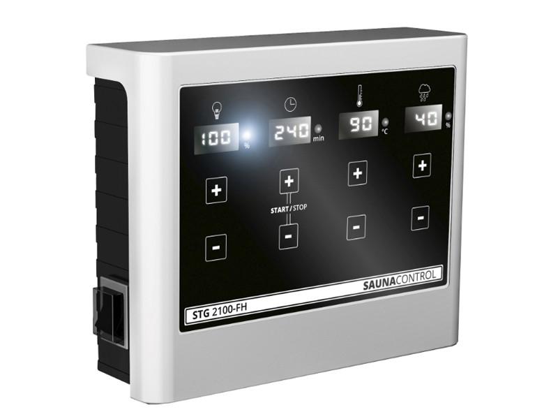 Karibu Steuergerät easy bio schwarz für Bio-Starkstromöfen mit 9 KW Leistung