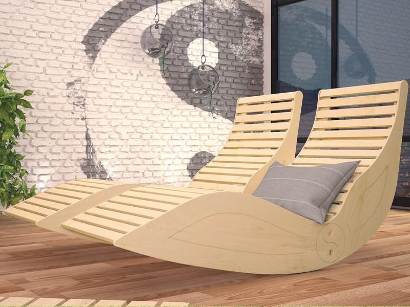 Wellness Liege Yin Yang - 50% günstiger - beim Kauf einer Karibu Sauna o. Saunahaus