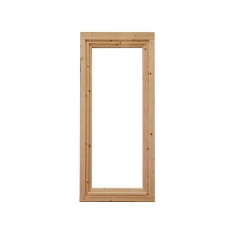 Wolff-Finnhaus Holz-Gartenhaus-Einzel-Fenster Langeoog 58 Iso