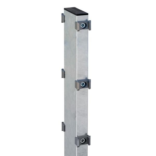 Gabionenfposten ZaunpfostenTyp DO 120X40  Feuerverzinkt - Länge: 1700 mm