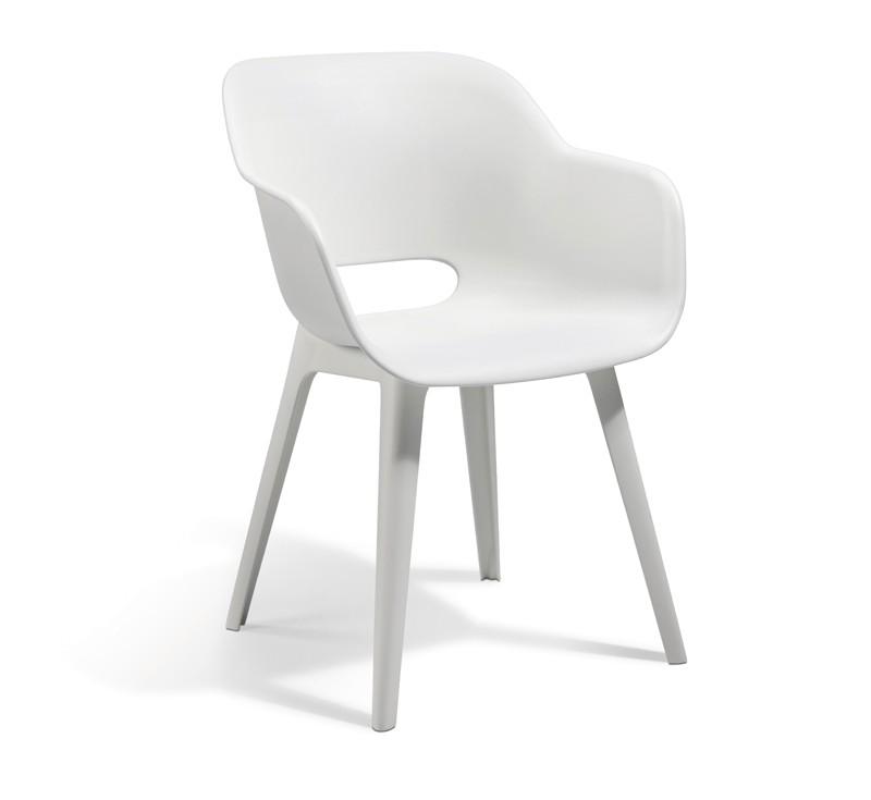 Best Vollkunststoff-Sessel Split - Dining-Sessel - Vollkunststoff - weiß