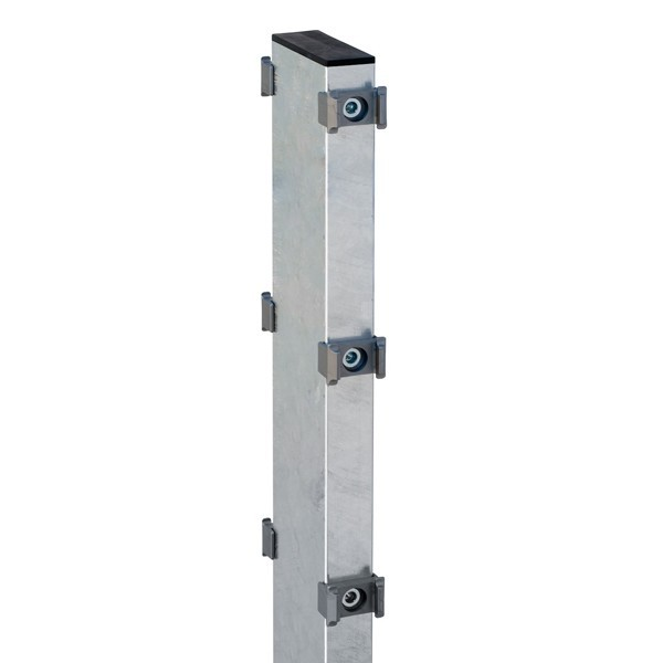 Gabionenpfosten Zaunpfosten Typ DO 120X40  Feuerverzinkt - Länge: 2200 mm