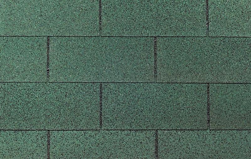 Wolff Finnhaus Holz-Gartenhaus Dachschindeln -  Rechteck grün