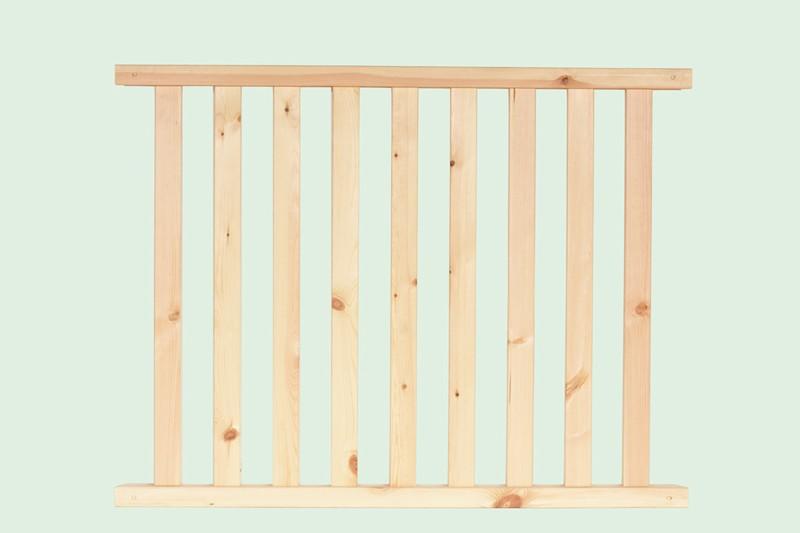 Wolff Finnhaus GartenHolz Gartenpavillon aus Holz Kreta 8: Wandelement Staketen klein