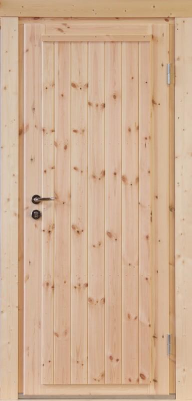 Wolff-Finnhaus Holz-Gartenhaus-Einzel-Tür Erik 34