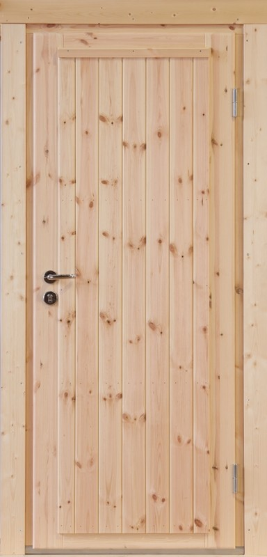 Wolff-Finnhaus Holz-Gartenhaus-Einzel-Tür Erik XL (extra hohe Türe) 44