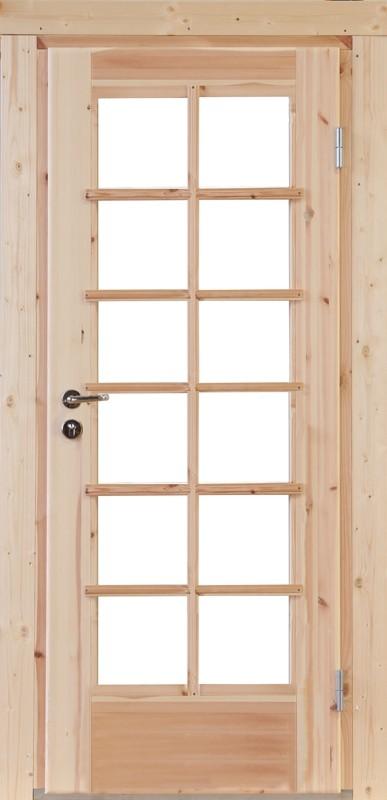 Wolff-Finnhaus Holz-Gartenhaus-Einzel-Tür Nils 28