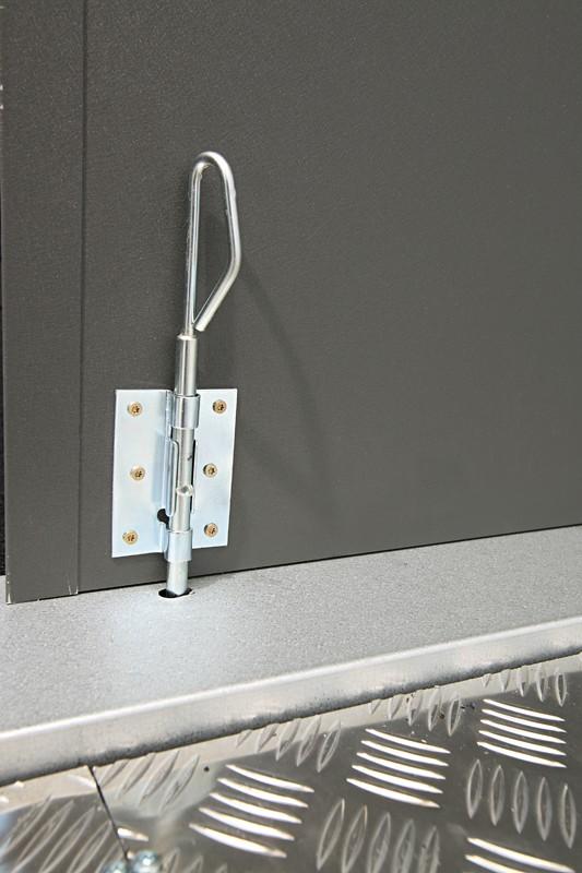 Wolff Finnhaus Metall-Gartenhaus Eleganto 2424 Weiß Wandmaß: 238 x 238