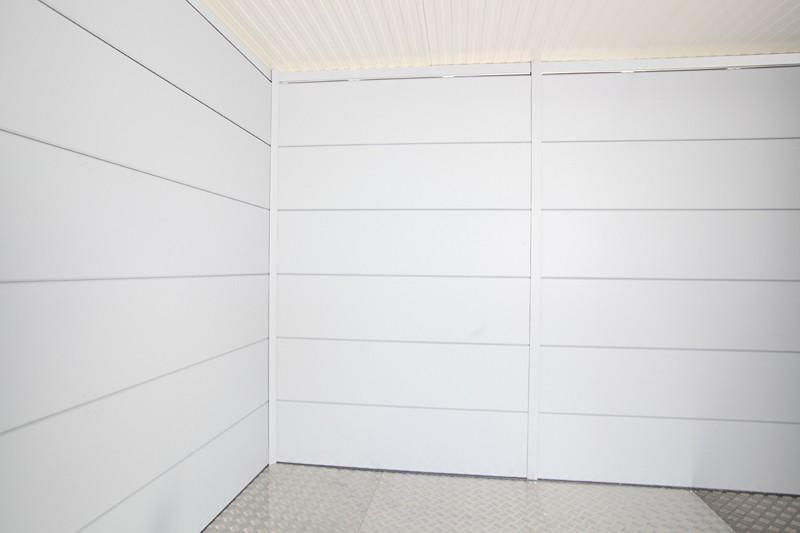 Wolff Finnhaus Metall-Gartenhaus Eleganto 3024: Innenwand