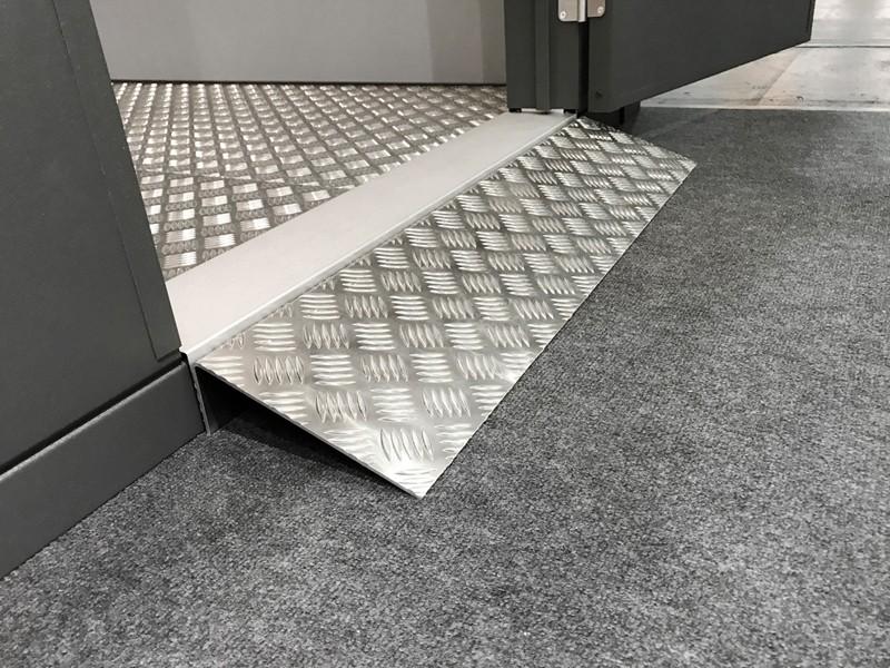 Wolff Finnhaus Metall-Gartenhaus Eleganto: Rampe für Einzeltür