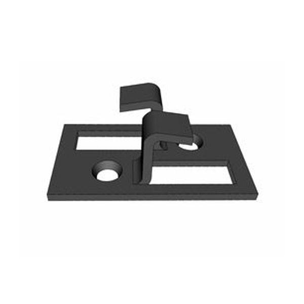 TraumGarten Verbindungsclips DreamDeck Edelstahl schwarz beschichtet - 50er Set