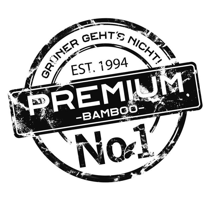 aMbooo Terrassendielen Bambus Elegance Farbe Espresso - Maße: 1870x139x20