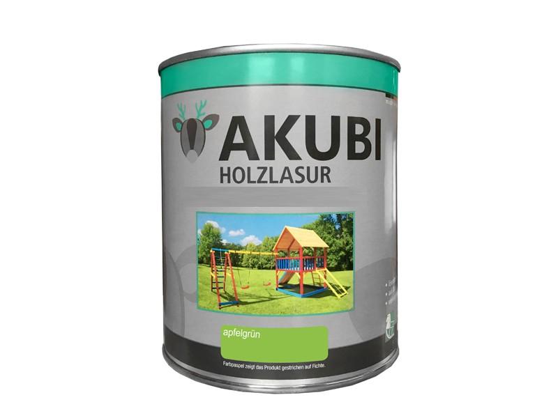 Holz-Lasur Apfelgrün Farbe Set 750 ml