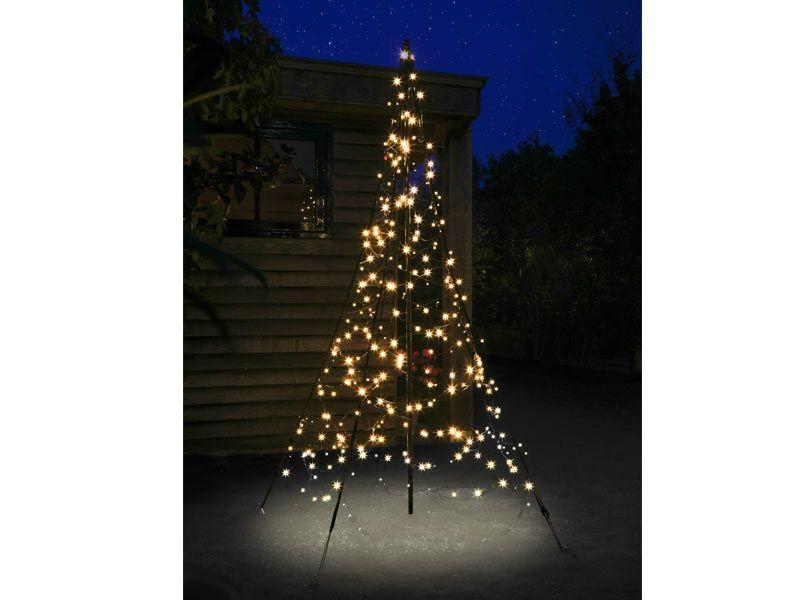 Fairybell LED Weihnachtsbaum außen 3m hoch mit 360 LED