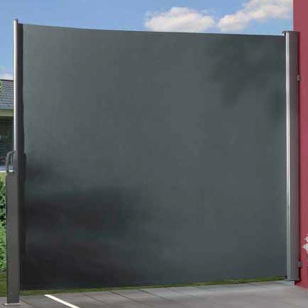 Traumgarten Seitenmarkise Basic Zum Ausziehen Anthrazit 160 X 300 Cm