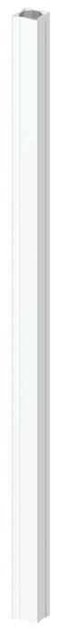 TraumGarten Zaunpfosten Longlife weiß - 8 x 8 x 150 cm