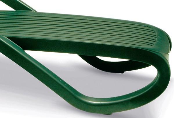 Best Stapelliege Bäderliege Eden grün