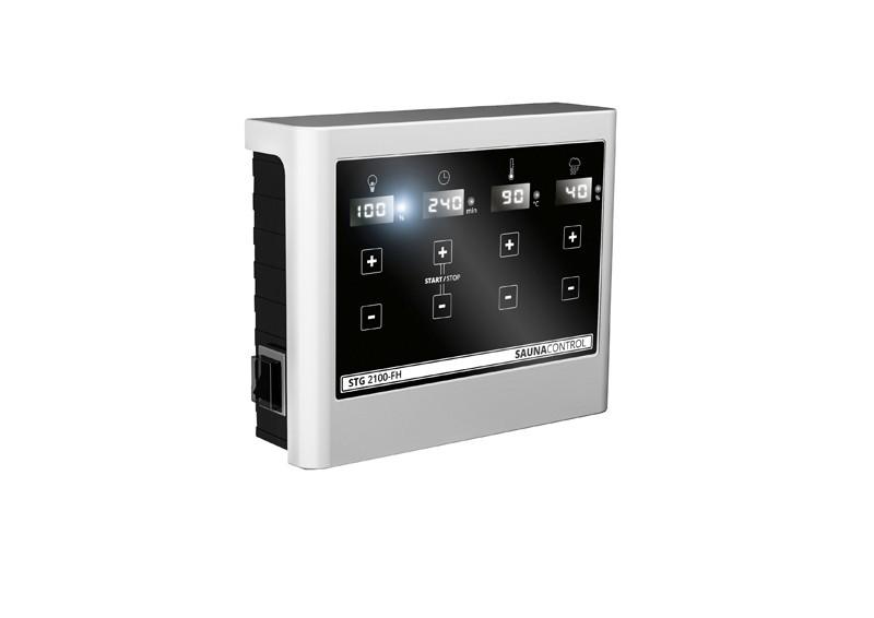 Karibu Systemsaunahaus 38 mm Saunahaus Jorgen Ofen 9 kW Bio externe Strg easy - naturbelassen