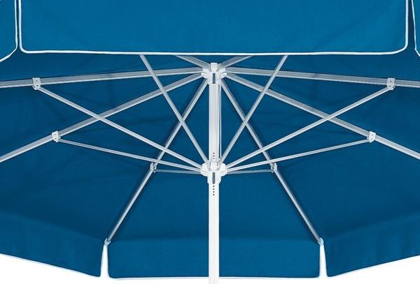 Best Großschirm Ibiza 400cm/8-tlg. weiß